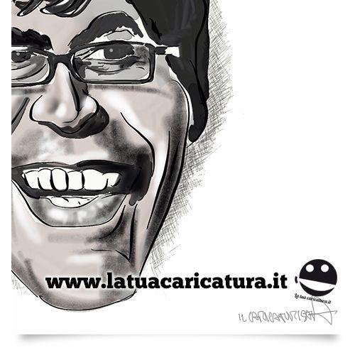 caricatura in bianco e nero!! Vi piace?