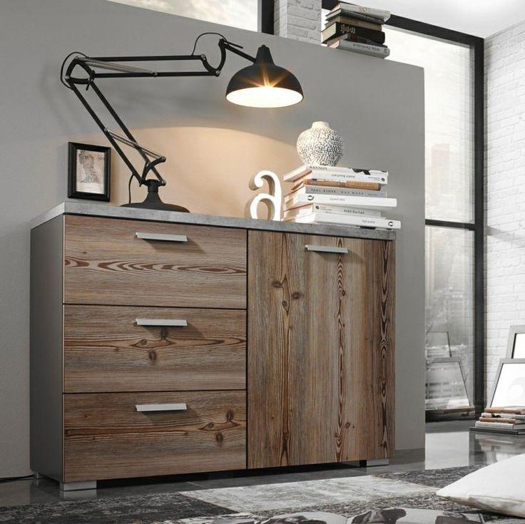 Commode en bois qui peut cacher un radiateur
