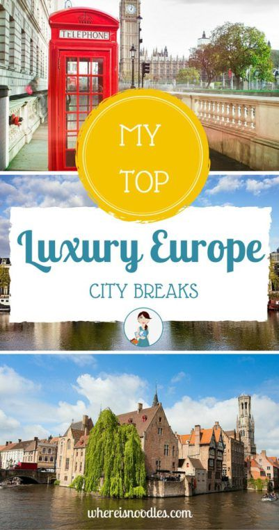 Every now and then I like to indulge in a little luxury! Who doesn't right? And these are my favourite go-to destinations in Europe!