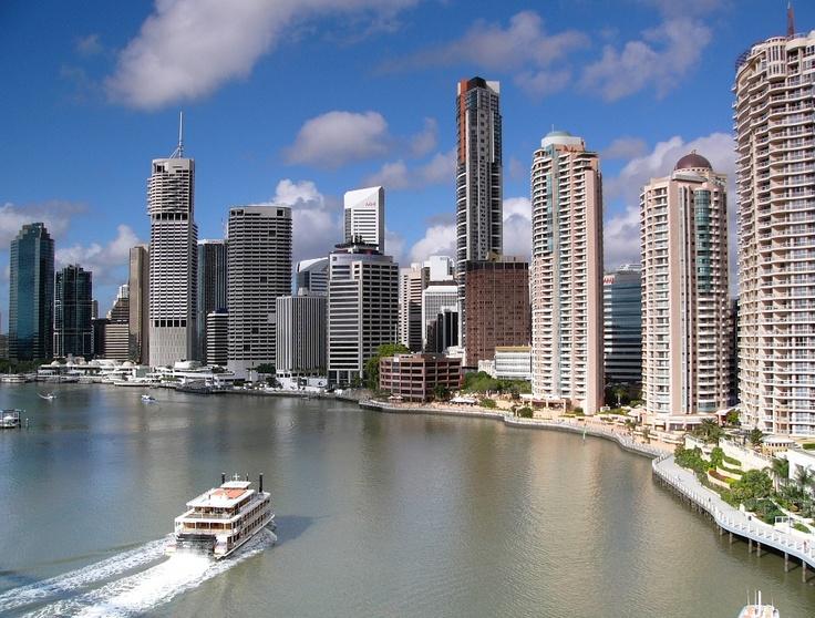 Riverside Brisbane, Australia.  Been here.: Beautiful Cities, Beautiful Brisbane, Brisbane Queensland, Brisbane Rivers, Brisbane Cities, Rivers Brisbane, Brisbane Australia, Rivers Cities, Places Visit