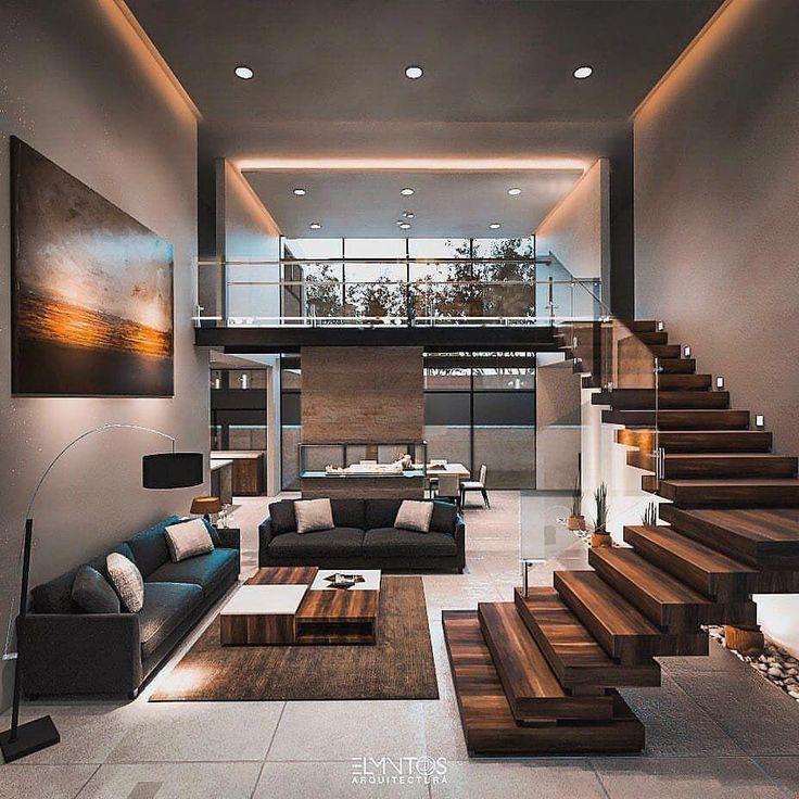 Que lindo esse loft! Quem aí também ama? 🖤 Pr…