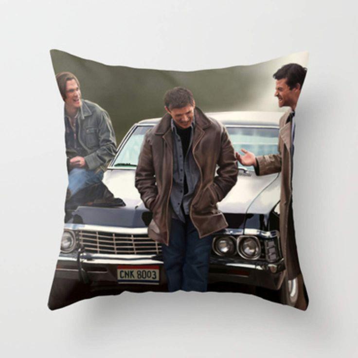 Supernatural Throw Pillow By Artechniq Wants Pinterest