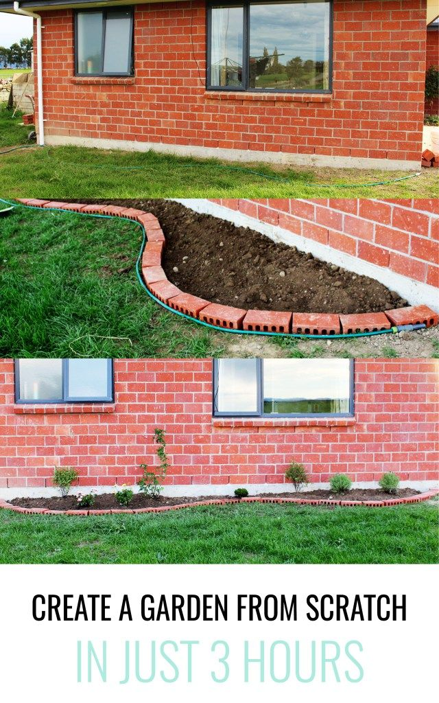 Do you want to add a flower bed to a boring piece of lawn? This is the post for you. Learn how to plan out and plant a new garden in just 3 hours.