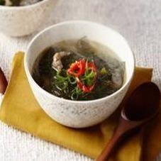 スンドゥブの次はコレ韓国伝統のスープミヨックでキレイに痩せちゃお