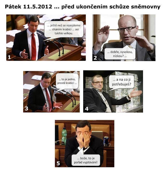 Vyptávání na sněmovně