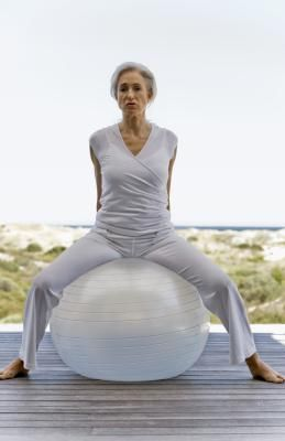 Abdominal Strengthening Exercises for Women Over 60 - I'm not into strenuous exercise but some folk are so - here you go