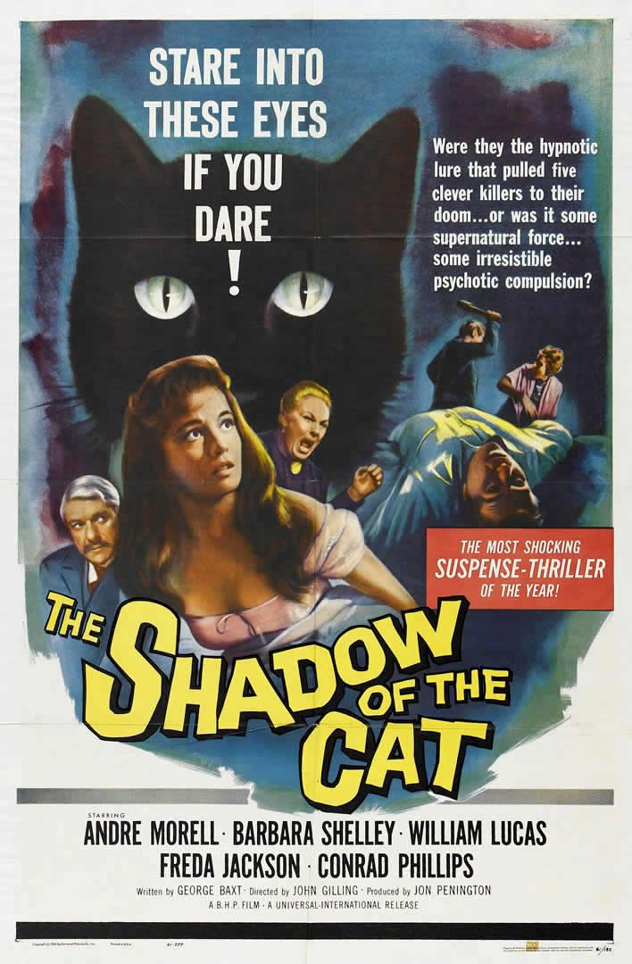 Hammer's The Shadow of the Cat (1961).