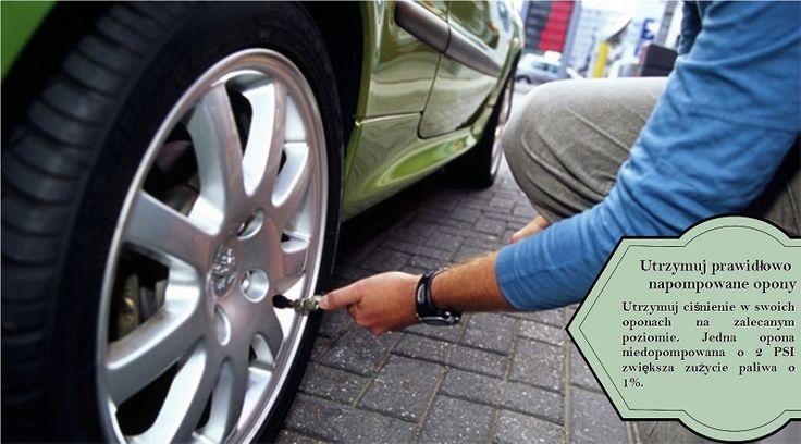 Napompuj swoje opony Utrzymanie dobrze napompowanych opon jest jednym z najprostszych oraz istotnych sposobów zmniejszania zużycia benzyny. Oszczędzanie paliwa = Oszczędzanie pieniędzy. Choćby z tego powodu powinieneś poprawić zużywanie paliwa. #nokianwrd4