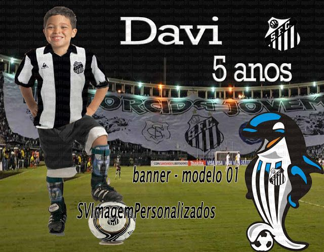 Banner Painel do Santos Futebol Clube