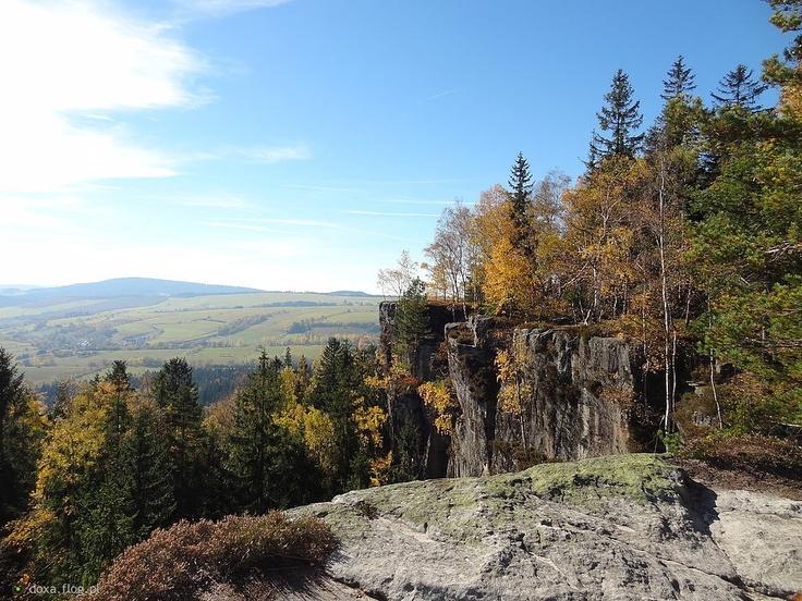 Skały Puchacza, Góry Stołowe