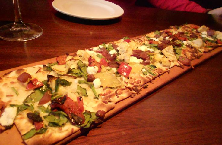 Copycat Recipe for Artichoke, Spinach and Goat Cheese Flatbread @ Seasons 52