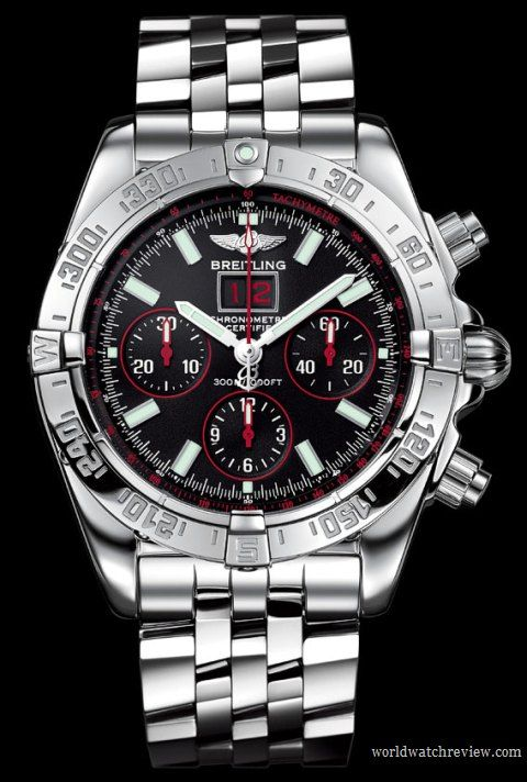 Breitling Blackbird Red Strike Chronograph Limited Edition automatic watch
