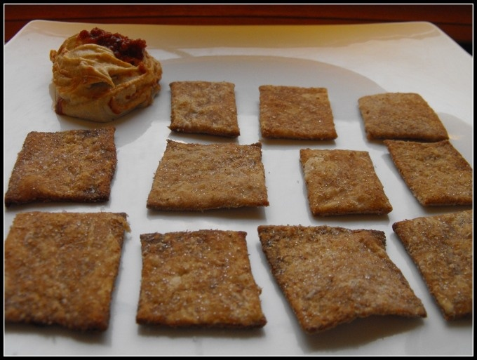 Homemade Wheat Thins   Things to fill my tummy   Pinterest