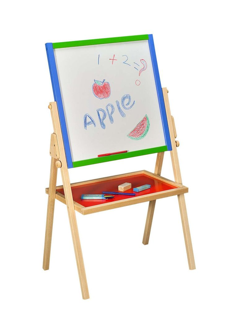 Tigris Wholesale Wooden Easel Board and Shelf  - Availability: in stock - Price: £44.39