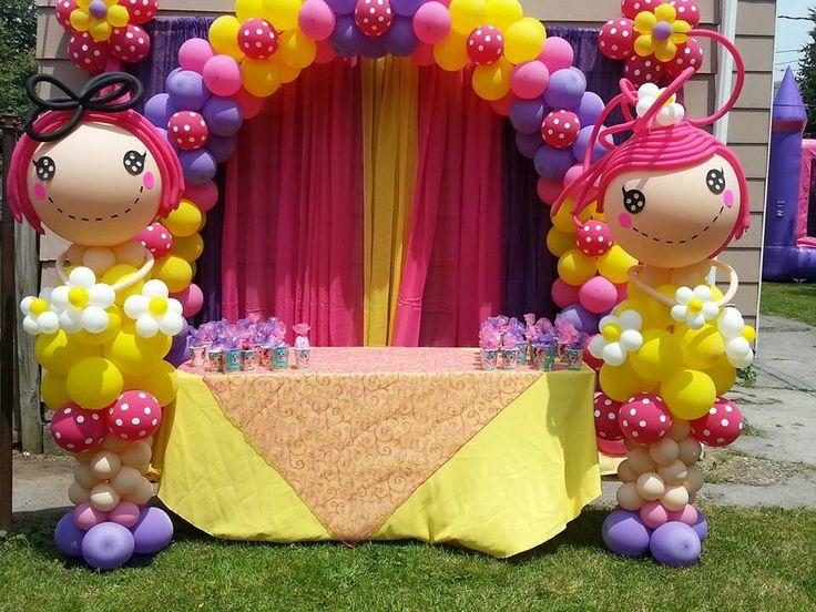 Lalaloopsy balloon arch                                                       …
