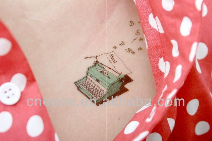 typewriter tattoo - Google Search