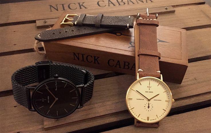 Επιλέξτε το αγαπημένο σας Nick Cabana ρολόι από το kosmima24.gr και ξεχωρίστε με το στυλ σας!! #nickcabana #watches #kosmima24  Δείτε τα όλα εδώ: https://goo.gl/WhUymH