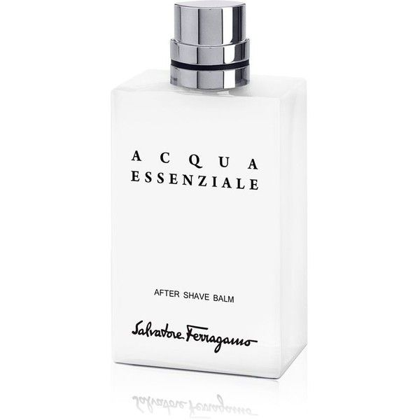 Salvatore Ferragamo Acqua Essenziale After Shave Balm ($64) ❤ liked on Polyvore featuring mens, men's grooming and men's shaving