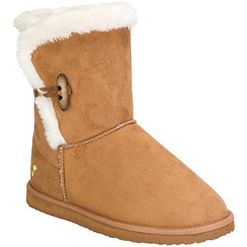 Voi Jeans Damen Titania Stiefel (Braun) UK 7 - http://on-line-kaufen.de/voi-jeans/7-uk-voi-jeans-damen-titania-stiefel-im-braun