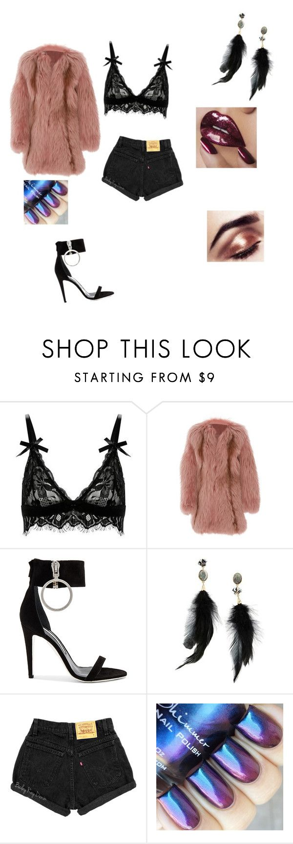 """Nicki Manja"" by bossdancer ❤ liked on Polyvore featuring J. Mendel, Off-White and Betsey Johnson"