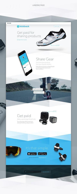 23 best Landing Pages Inspiration images on Pinterest   Design web ...