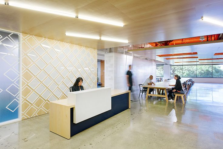 Clean Lines And Concrete Floors Greet Guests At Prospers Headquarters