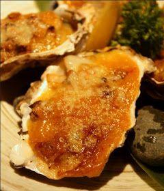 Huîtres chaudes cuisinées au champagne, sans gluten