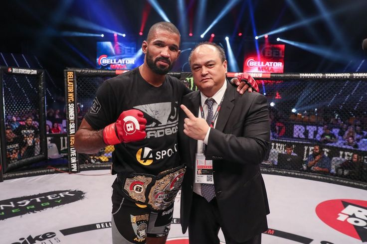 """Rafael Carvalho @rafaelcarvalhodesouza on his future with #Bellator following his #middleweight #championship win against Melvin Manhoef @melvinnomercymanhoef """"Im going to continueto defend my middleweight title here at Bellator but Im also interested in a super fight in our light heavyweight division or maybe a bout in Bellator Kickboxing. That would be fun for me."""" #MMA #mixedmartialarts #MLMMA #BellatorMMA #ManhoefvsCarvalho2 #CarvalhovsManhoef2#RafaelCarvalho #MelvinManhoef  #bellator176…"""