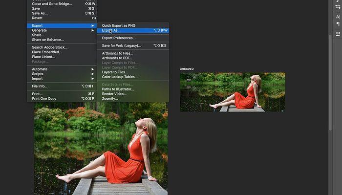 Photoshop cc save as pdf