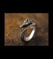 Δαχτυλίδι κροκόδειλος