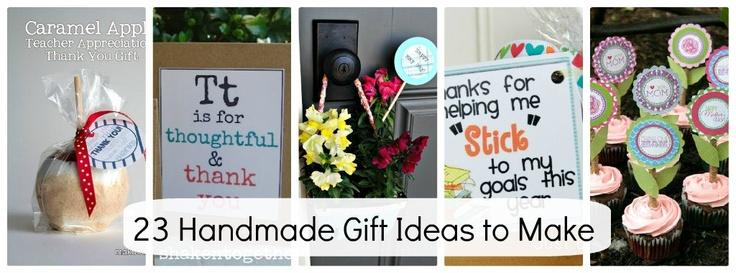 Teacher appreciation!  Cute Cute Cute: 23 Handmade, Gifts Ideas, Gift Ideas, Homemade Gifts, Teacher Gift, Diy Gifts, Handmade Gifts, Craft Ideas, Special People