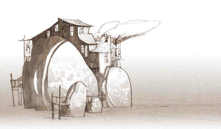 illustrations, esquisses et autres bêtises: New House