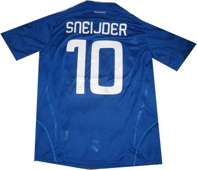08-09 Real Madrid away (Sneijder 10) #Sport #Football #Rugby #IceHockey