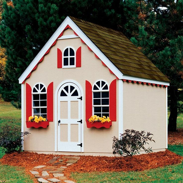 66396b32b531949b2339e53d7fe96e3d--wood-playhouse-playhouse-ideas Paint Woden Houses Designs on