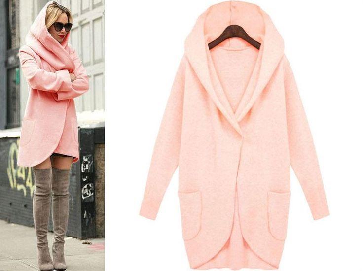Dámský oversize kabát s kapucí růžový – Velikost L Na tento produkt se vztahuje nejen zajímavá sleva, ale také poštovné zdarma! Využij této výhodné nabídky a ušetři na poštovném, stejně jako to udělalo již velké …