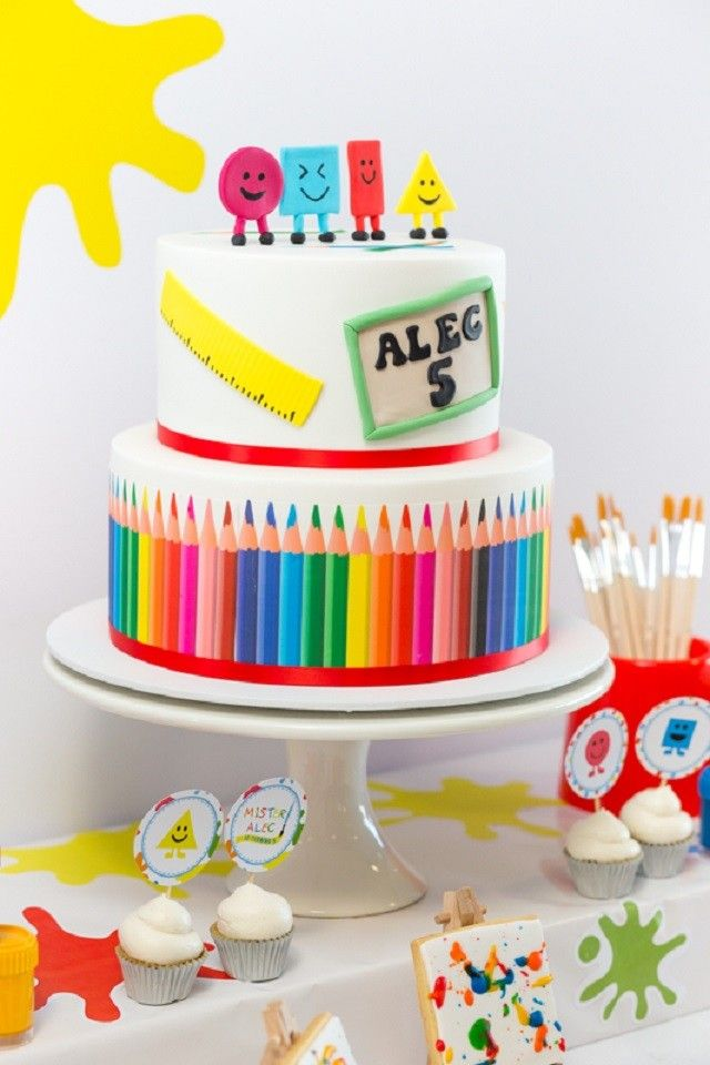 Cake Art Llc : 17 Best images about Mister Maker Art Party Ideas on ...