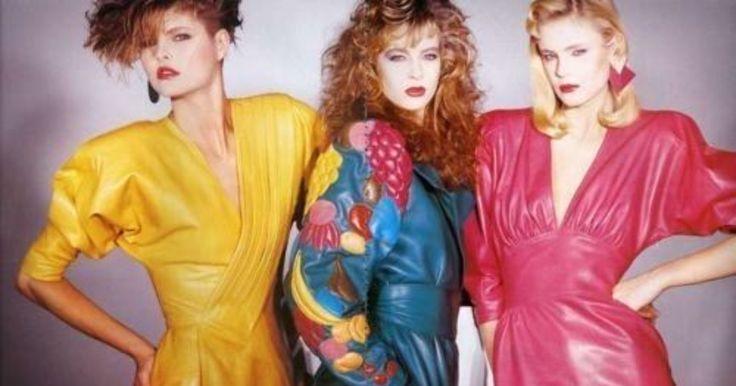 мода 80 х годов фото платья и прически: 14 тыс изображений ...