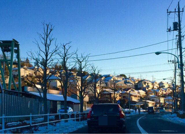 雪の翌日は別世界