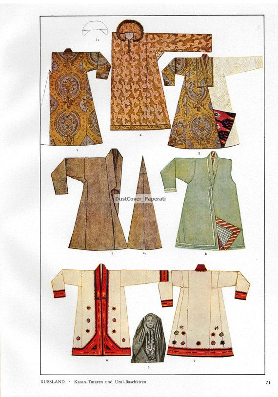 Three Costume Pattern and Design Book Plates  by DustCoverPaperati, $17.00