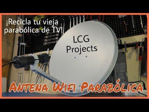 """Antena Wifi Casera De Gran Poder Facil De Hacer  """"5 Minutos"""" - YouTube"""