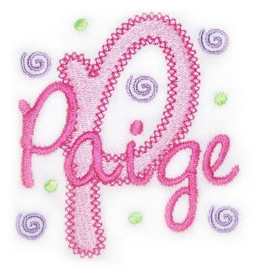 Alphabets :: Vintage Chloe Alphabet - Embroidery Boutique