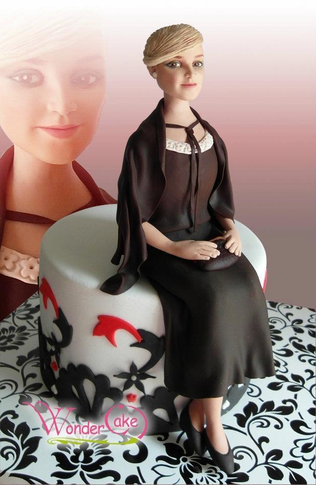 Elena Atash - the best small figure face sugar artist I've seen yet. https://www.facebook.com/profile.php?id=100001408361252