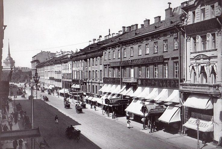 Невский проспект. 1900-1902 гг.