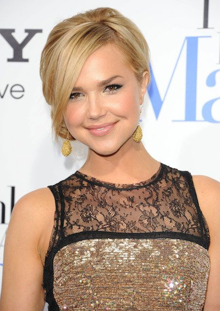 "Arielle Kebbel at ""Think Like A Man"" Hollywood Premiere held on February 9, 2012..."