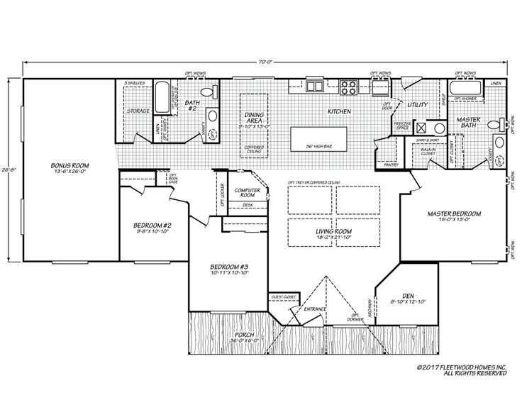 39 best Fleetwood Homes DFH images – Waverly Mobile Homes Floor Plans