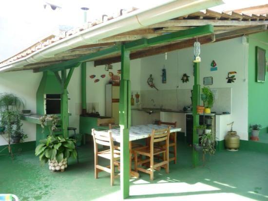 area de churrasco e cozinha caipira