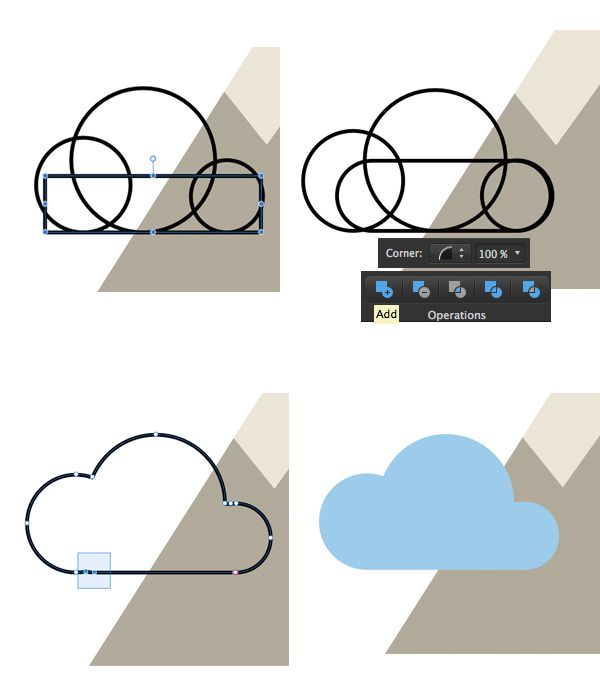 How to Create a Set of Flat Hiking Icons in Affini…