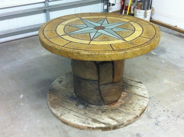 best  about Concrete Furniture on Pinterest  Shops