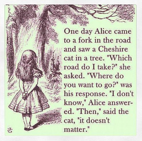 Alice In Wonderland Quotes Tumblr Mind Decoration