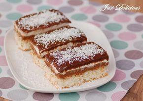 Kokosovo-čokoládový zákusok